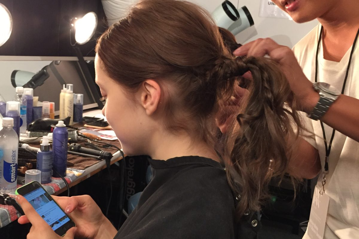 Backstage Beauty: Alice and Olivia